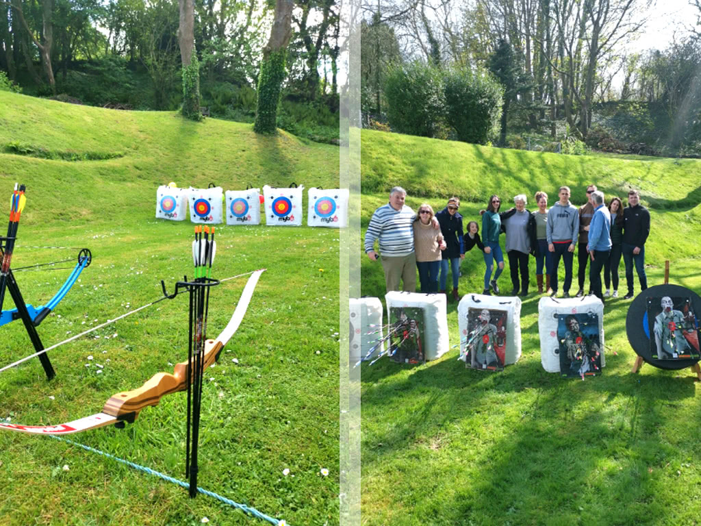 Archery at the Grange