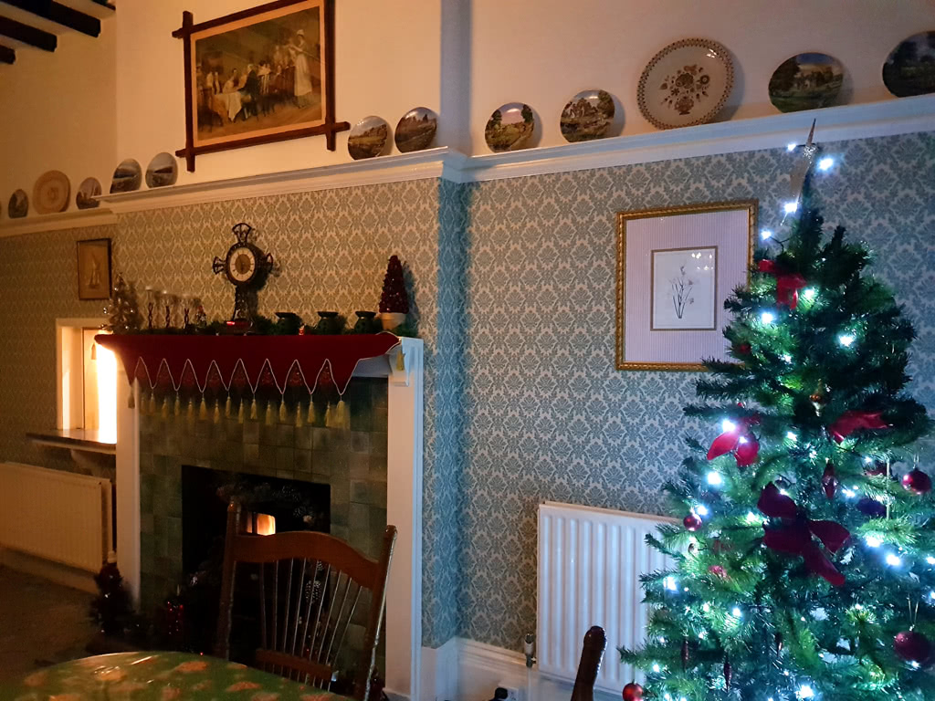 Christmas at the Grange, the dining room