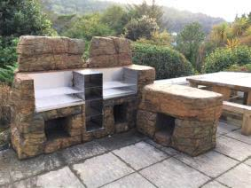Large double barbecue, perfect for your outdoor party
