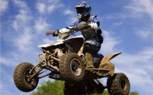 Quad biking and other adventure sports