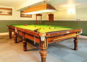 Snooker: it's like pool, just much, much harder!
